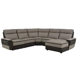 Laertes 5 Piece Modular Power Reclining Sectional
