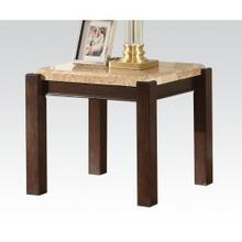 End Table W/marble Top