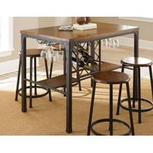 Rebecca 48-inch Wine Storage Counter Table