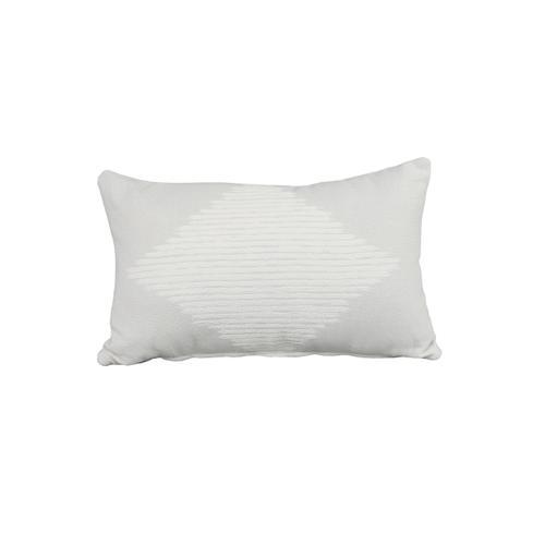 """Cabana Coast - Smolder Marble 13"""" x 21"""" Pillow"""