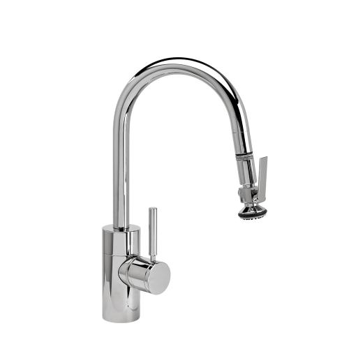 Contemporary Prep Size PLP Pulldown Faucet - Angled Spout - 5940 - Waterstone Luxury Kitchen Faucets