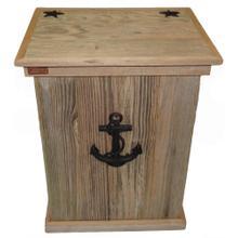 Product Image - Trash Can - Single - Sea Anchor - Black