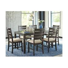 Rokane Table & 6 Chairs Brown