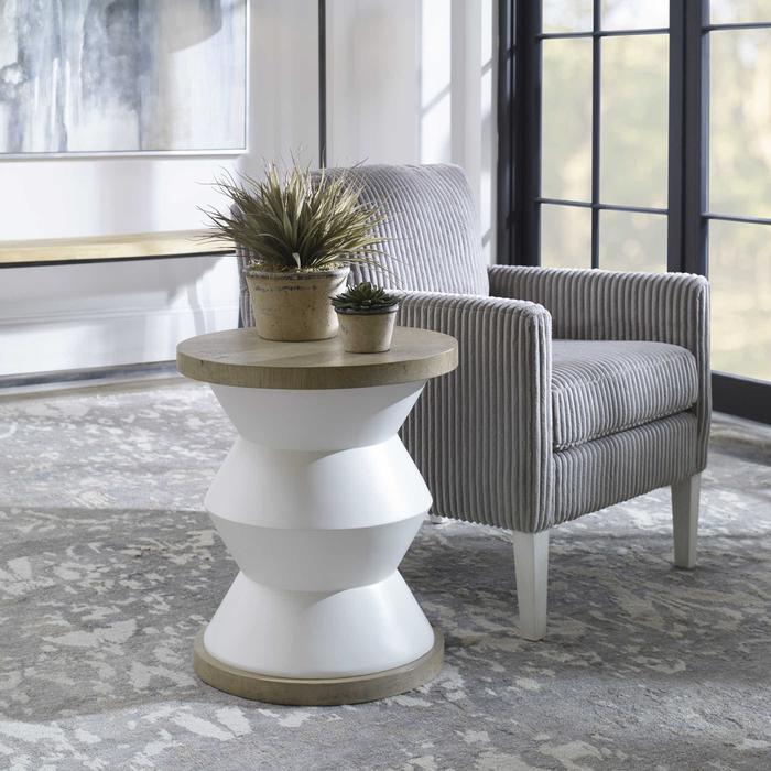 Uttermost - Spool Side Table