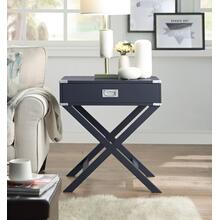 7082 GRAY X-Base End Table