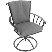 See Details - Vinings Swivel Rocker Dining Chair