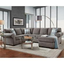 Charisma Smoke Sectional