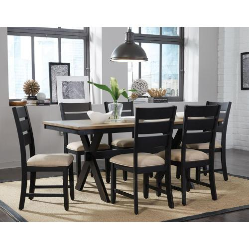 Standard Furniture - Leg Table and 6 Side Chairs