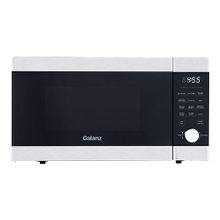 "Galanz 1.1 Cu Ft ExpressWave"" Sensor Cooking Microwave Oven with an easy-to-use Express Cooking Knob in Stainless Steel"