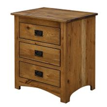 See Details - Mission Nightstand w/Slideout Top
