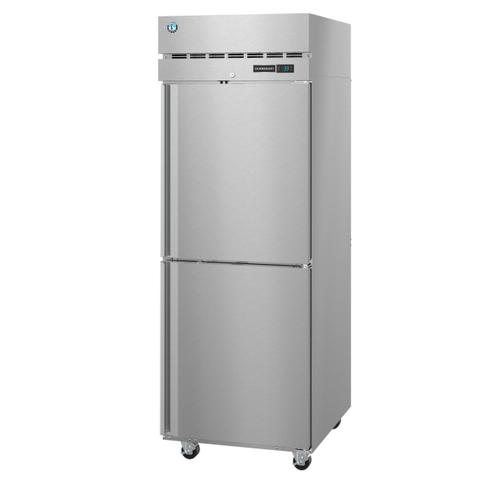 Hoshizaki - F1A-HS, Freezer, Single Section Upright, Half Stainless Doors with Lock
