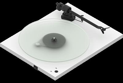 White- Pro-Ject T1 Phono SB Turntable