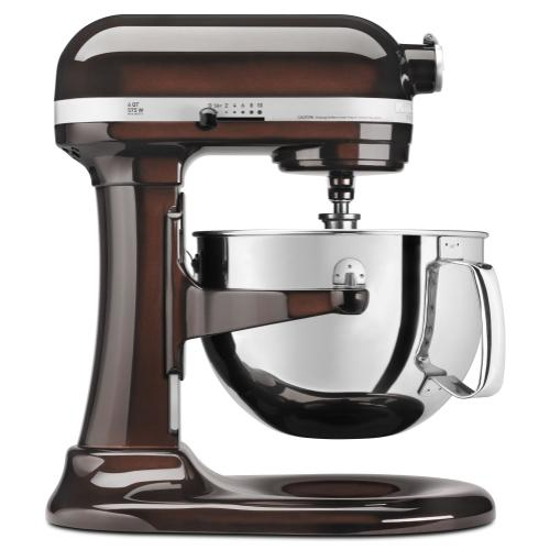 Pro 600™ Series 6 Quart Bowl-Lift Stand Mixer - Espresso