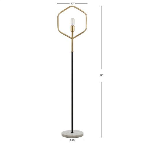 Mave Floor Lamp - Gold / Black