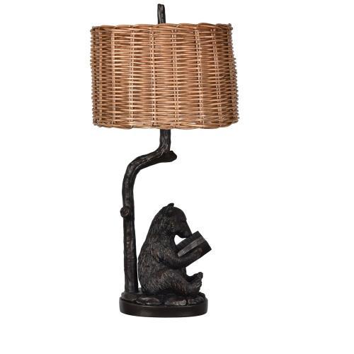 Bear Knowledge Table Lamp