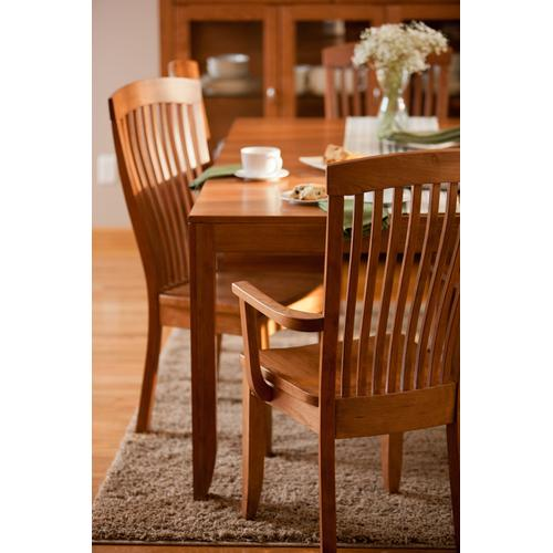 Justine Leg Table, 2 Leaf
