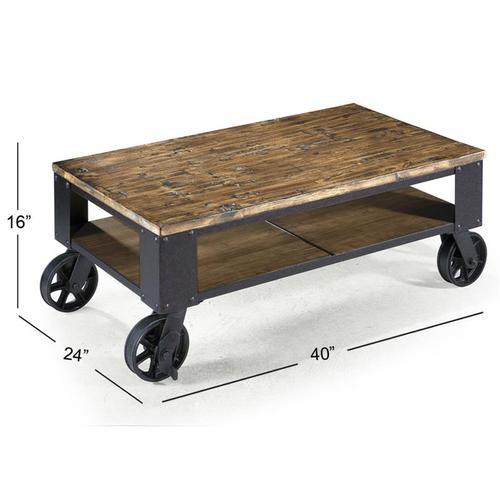 Magnussen Home - Rectangular Starter Cocktail Table
