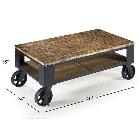 Rectangular Starter Cocktail Table