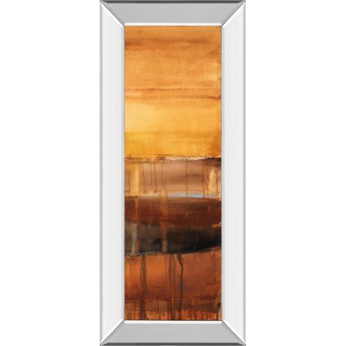 "Classy Art - ""Autumn Glows Il"" By Lanie Loreth Mirror Framed Print Wall Art"