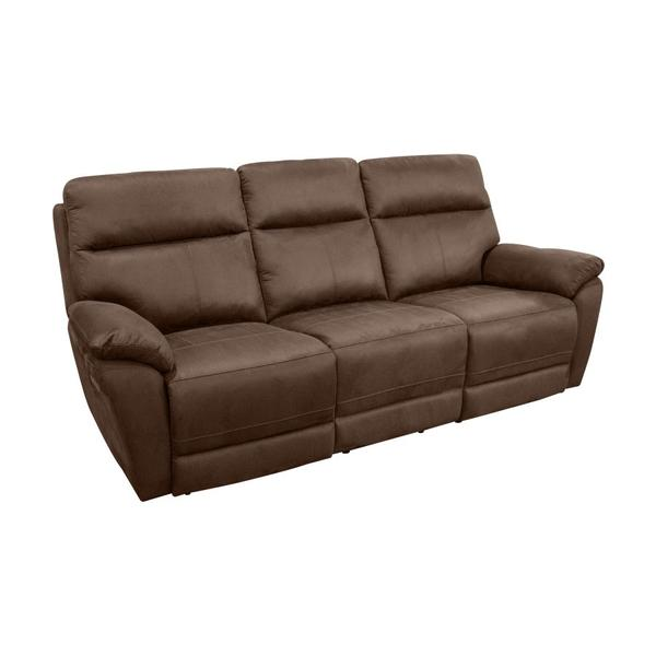 See Details - Pagosa Brown 3X Power Sofa, Console Loveseat & Recliner, MAP8190