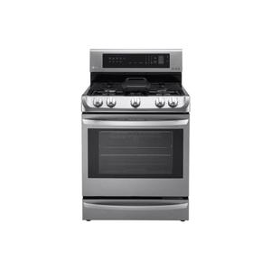 CLOSEOUT 6.3 cu. ft. Gas Single Oven Range with ProBake Convection®, EasyClean® and Warming Drawer Product Image