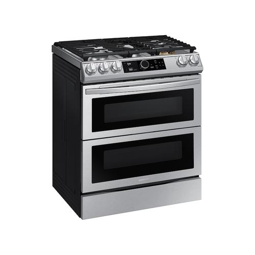 6.3 cu ft. Smart Slide-in Gas Range with Flex Duo™, Smart Dial & Air Fry in Stainless Steel