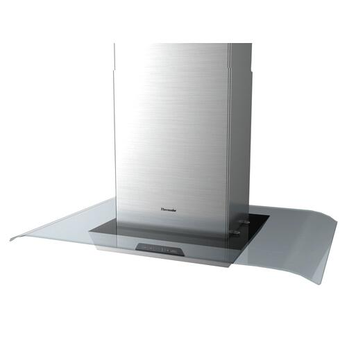 OPEN BOX 40-Inch Masterpiece® Glass Island Hood