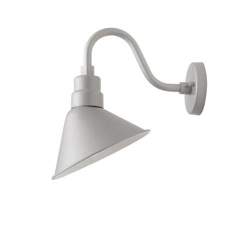 """Capital Lighting - 10"""" Gooseneck Arm with Wall Mount Bracket"""