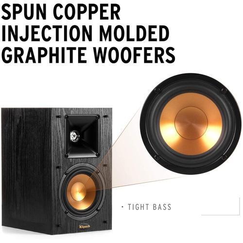 Klipsch - Synergy Black Label B-100 Bookshelf Speakers