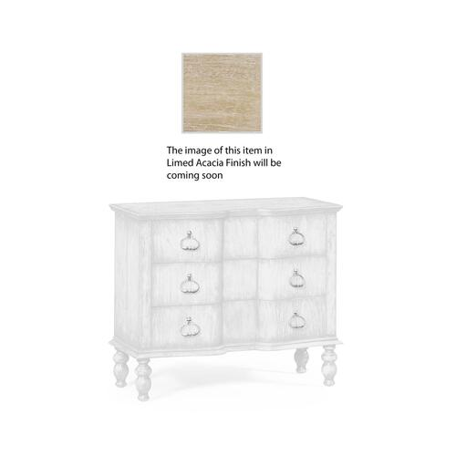 Chest of Drawers in Limed Acacia