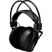 Professional closed-back studio monitor headphones