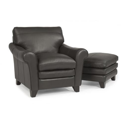 Flexsteel Home - Sofia Leather Chair
