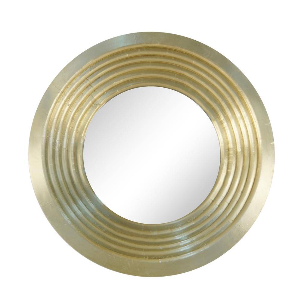 """See Details - Mirror 48"""" Wood/metal, Gold"""