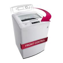 See Details - 4.1 cu. ft. Large Capacity Top Load Washer with Sleek Easy Front Control Panel