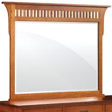 See Details - Prairie Mission Dresser Mirror, 45 'w x 43'h