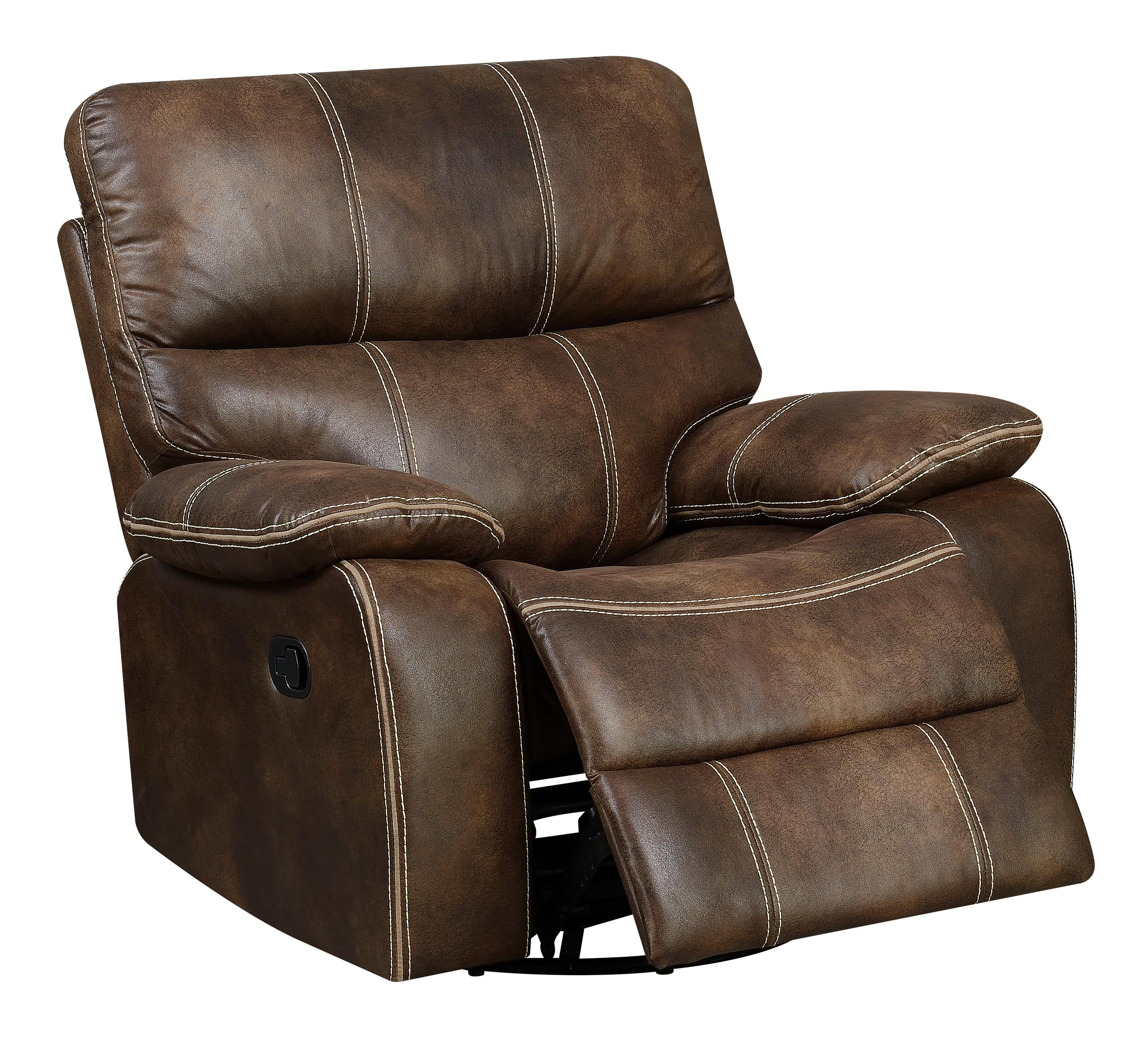 Emerald Home FurnishingsSwivel Gliding Recliner