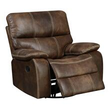 Jessie James Swivel Gliding Recliner, Chocolate Brown U7130-04-15