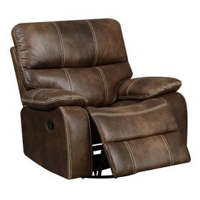 Jessie James Swivel Glider Recliner Brown
