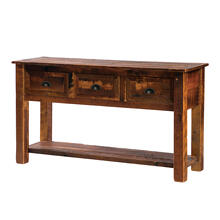 See Details - Three Drawer Console Table