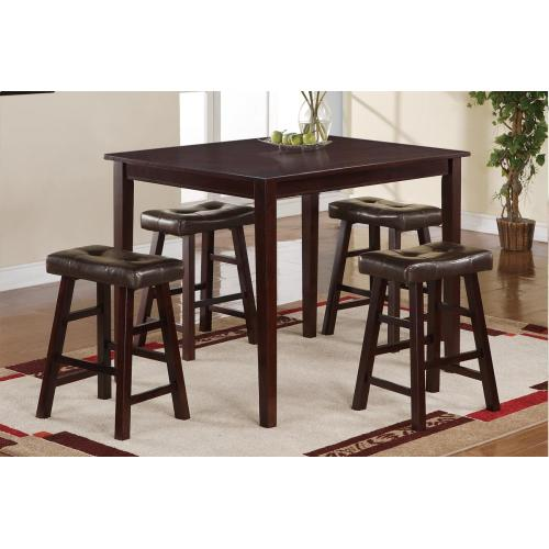 Gallery - Table + 4 Chairs (counter Height)