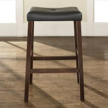 29 IN. Upholstered Saddle Stool