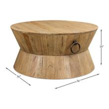 Tribal Round Centre Cocktail Table