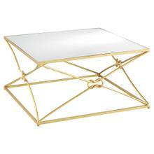 See Details - Ariadne Gold Cocktail Table