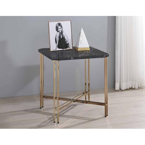 Gallery - Daxton Faux-Marble Top End Table
