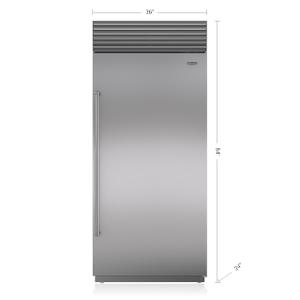 """Subzero36"""" Classic Refrigerator"""