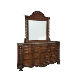 Ashley Millennium - North Shore Bedroom Mirror
