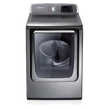 7.4 cu. ft. Capacity Electric Front Load Dryer (Stainless Platinum)