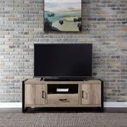 64 Inch TV Console w/ Faux Metal Product Image