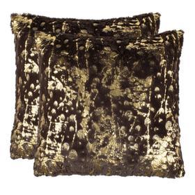 "Nars 20"" Pillow Chocolate - Chocolate/gold"