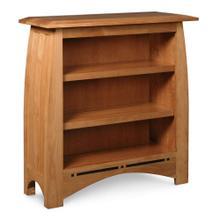 See Details - Aspen Short Open Bookcase with Inlay, 2 Shelves